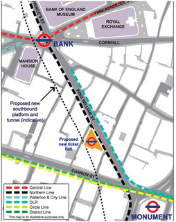 Bank Tube Station Proposals | by Annie Mole