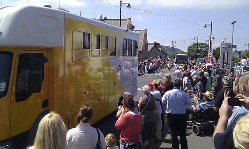 Olympic torch in Abergele | by supervee_2000