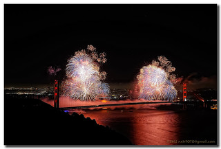 Golden Gate Bridge 75th Birthday - Opening Salvo | by C. Roy Yokingco