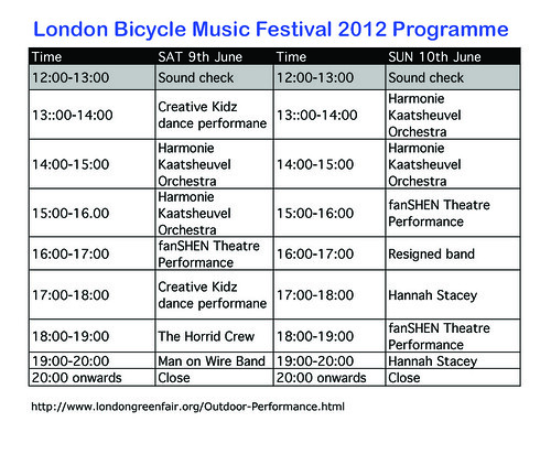 London Bicycle Music Festival 2012 | by Funny Cyclist