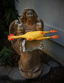 Portrait of Terentia - The Guardian Angel of all Rubber Chickens | by ricko