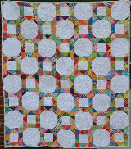 Bust Yo Scraps Quilt Along: Front | by jenjohnston