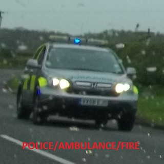 West midlands ambulance service honda crv rapid response vehicle on emergency call. | by policeambulanefire