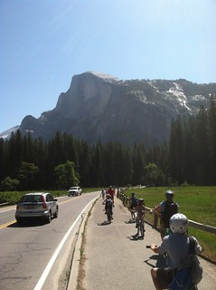 Half Dome while riding bikes | by inky