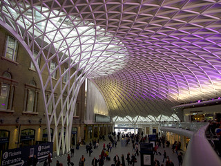 King's Cross Railway Station | by Leah Lefevre Sandomirskaya