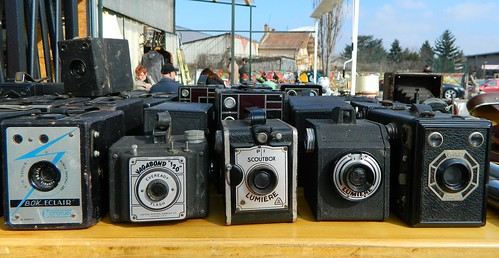 Vintage Cameras at Puce Antique Market | by amymidd88