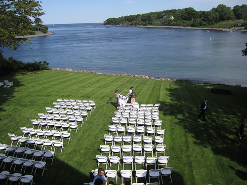 The view from our balcony before the wedding bill damon for On our balcony