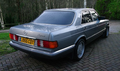 Nightwish. Mercedes W126 with tints | by w126uk / Duncan Joint