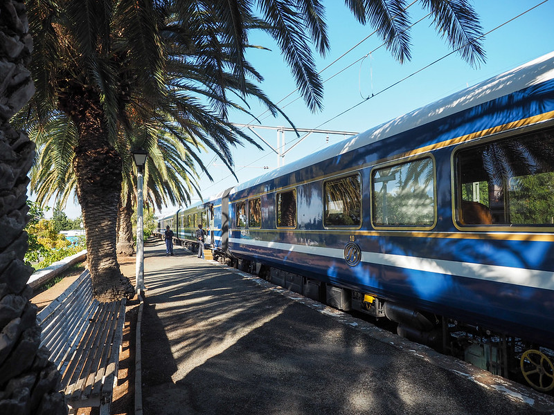 Blue Train in South Africa