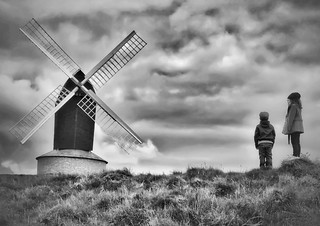 Two kids & a windmill | by JonnyGoodchild