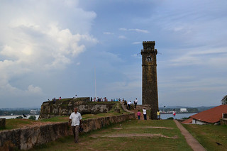 Old clock tower at the Galle Fort | by Shehan Obeysekera