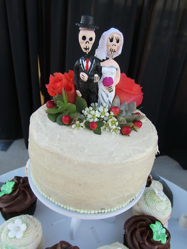 Day of the Dead Cake Topper | by OurLadyofCupcakes