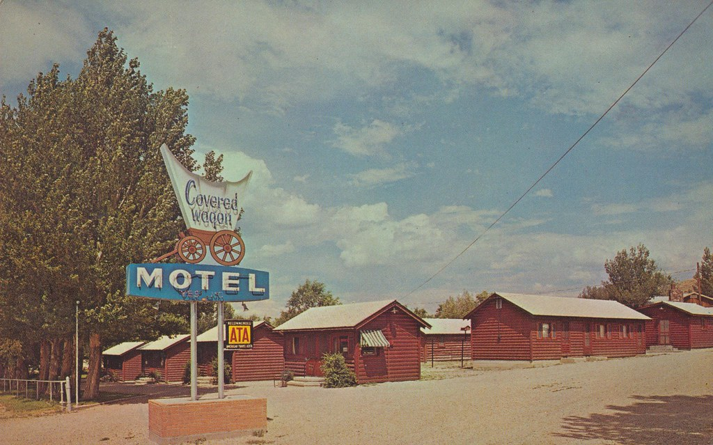 Covered Wagon Motel - Cody, Wyoming