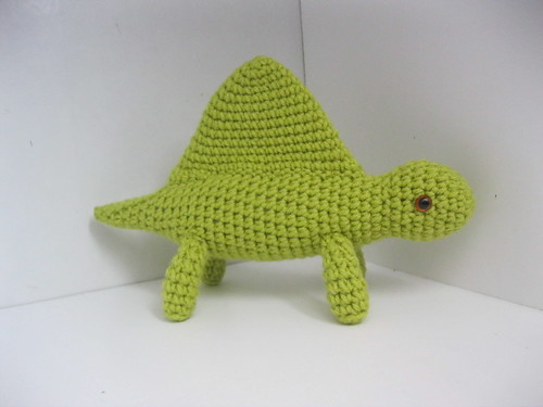 Green Dimetrodon | by MagicalAmigurumi