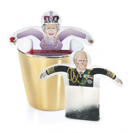 sixtea years jubilee greeting card novelty tea bags by d flickr. Black Bedroom Furniture Sets. Home Design Ideas