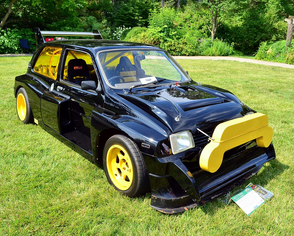 1985 MG Metro 6R4 Group B Rally car | www.facebook.com/Scott… | Flickr