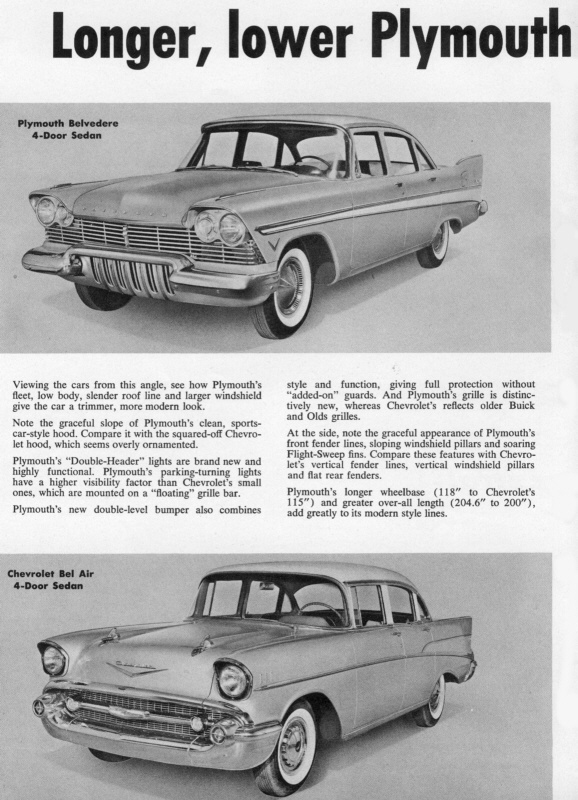 Road Test: Plymouth vs Chevrolet | Hipo 50's Maniac | Flickr