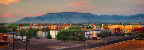 ABQ Sunset View from Hotel | by Doug Knisely