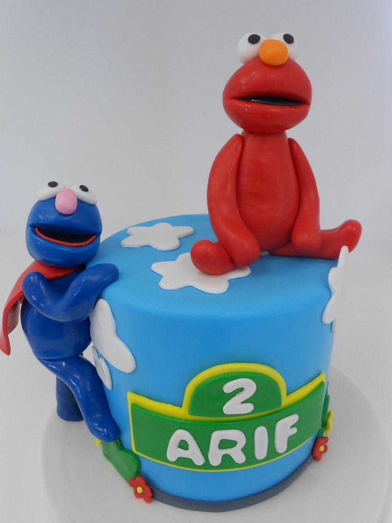 Elmo Themed Birthday Cake 1149