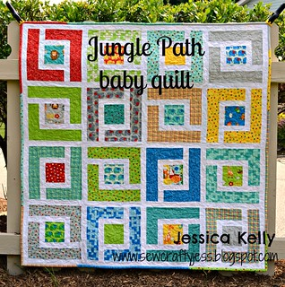 Moda Bake Shop Jungle Path baby quilt | by sewcraftyjess