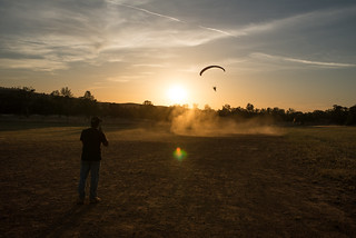 Tyler's First Powered Paragliding Launch | by goingslowly