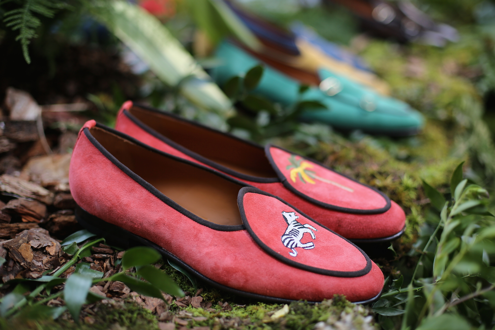 EDHÈN Milano Kensington loafers embroideries
