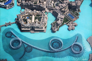 Above Dubai Fountain | by Ibrahim Bin Mohammed