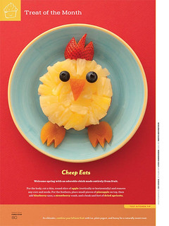 My Fruity idea for Disney Family Fun  (March'12 issue , pg 80) | by Smita @ Little Food Junction