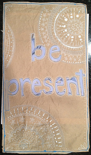 be present | by trashpaintglue