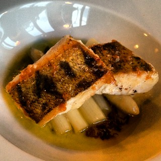 Pike perch & asparagus @ Restaurant Gebr. Hartering | by stijn