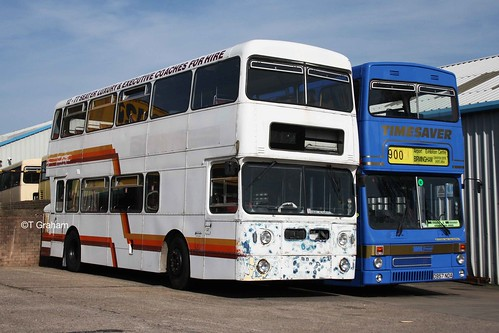 West Midlands Daimler Fleetline GOG 535N and MCW Metrobus D957 NDA | by Acceptable in the 90's