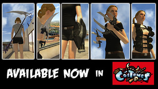PlayStation Home: Feudal Lord Weapons | by PlayStation.Blog