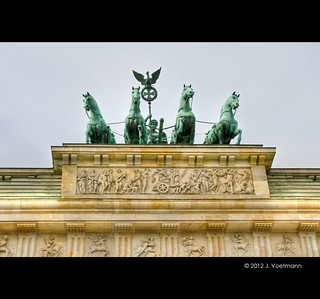 Quadriga auf dem Brandenburger Tor | by JuttaV.