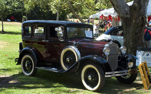 1931 ford model a fordor black over maroon fvr flickr. Black Bedroom Furniture Sets. Home Design Ideas