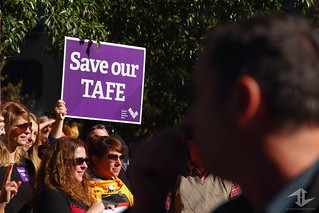 Save Our TAFE | by Thomas Lim Photography