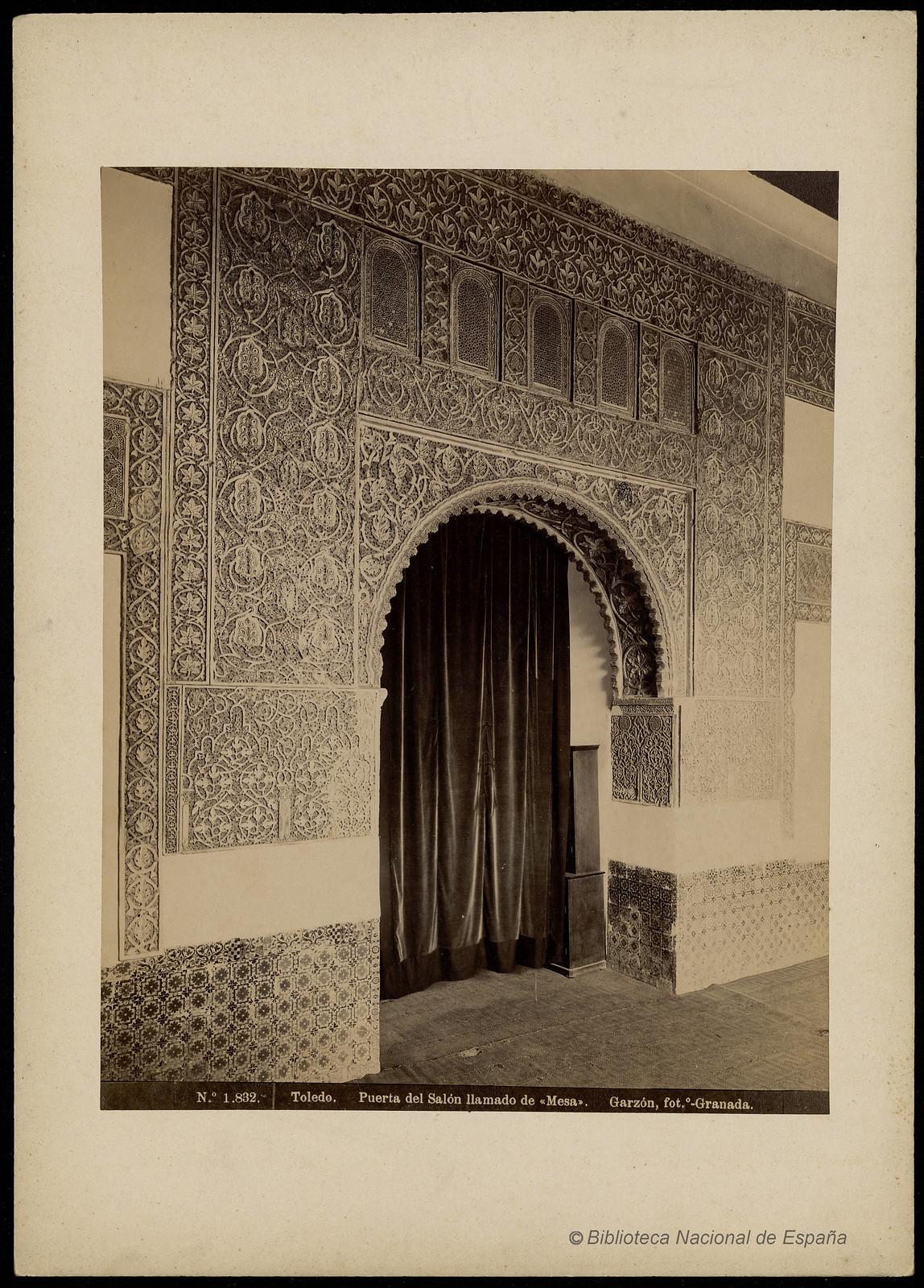 Casa de Mesa. Rafael Garzón. Biblioteca Nacional