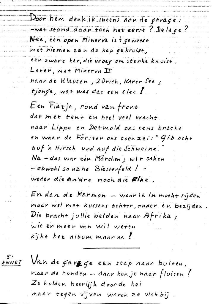 19760120 A8060 085 Gedicht Tgv Gouden Bruiloft Opa Wim