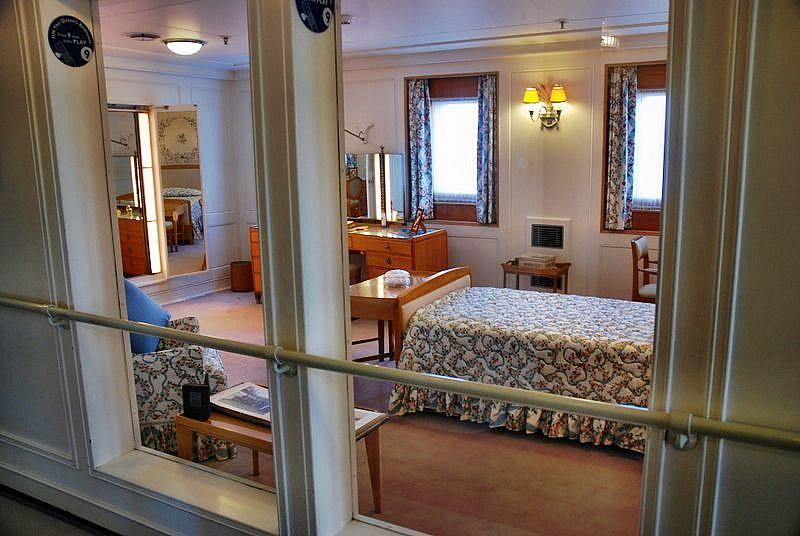 ... The Queenu0027s Bedroom   Royal Yacht Britannia   By Floato