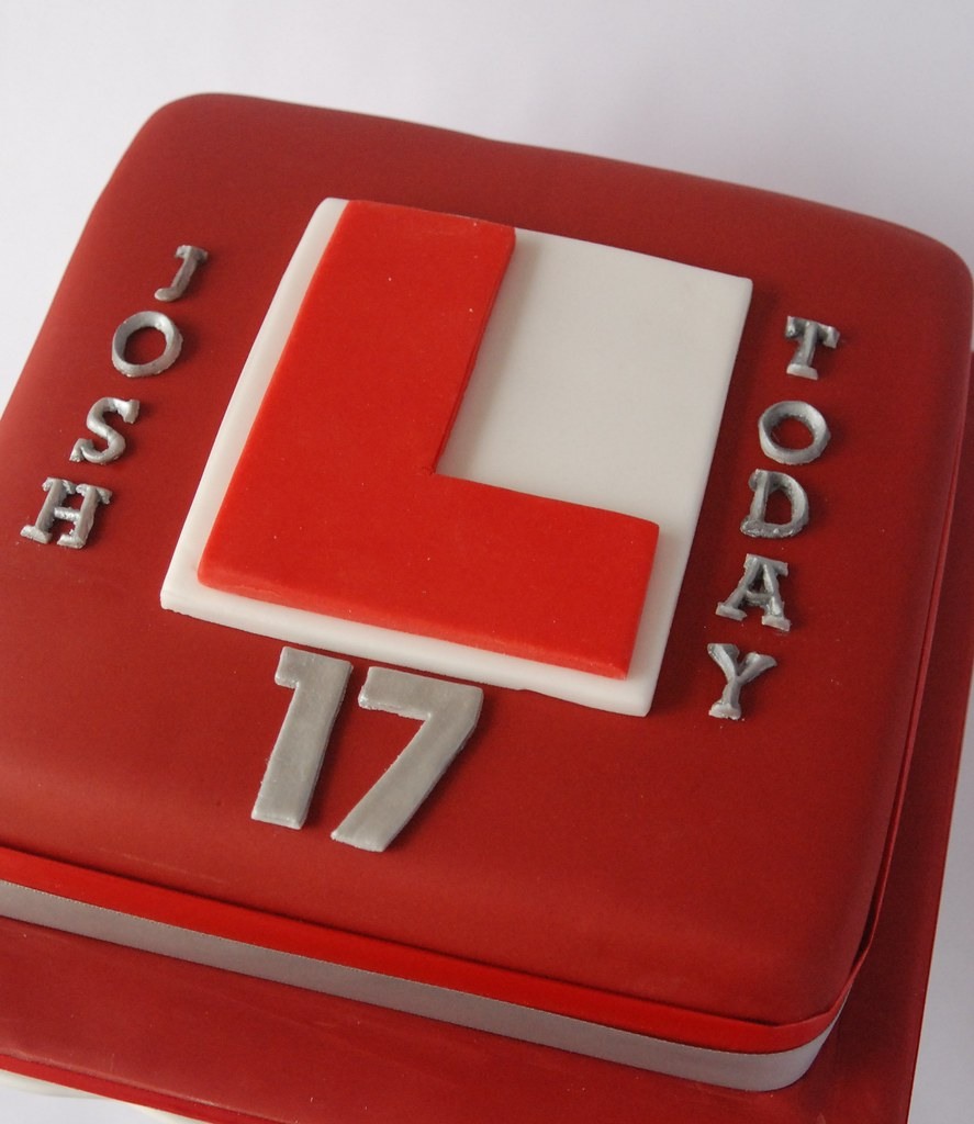 ... L-Plate Birthday Cake | by Lorraine McCarroll : l plate cake - pezcame.com