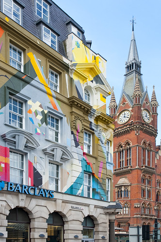 UK - London - Kings Cross - Colourful building 02 | by Darrell Godliman
