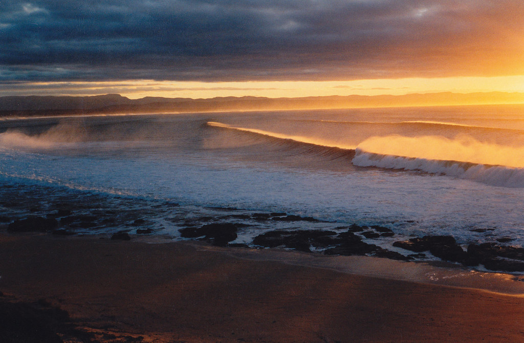 Sunrise over Surfer's Point, J Bay