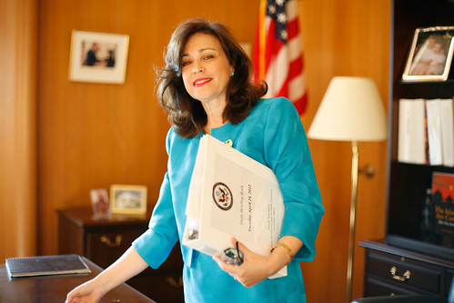 Under Secretary Sonenshine Prepares for her Swearing-In Ceremony | by U.S. Department of State