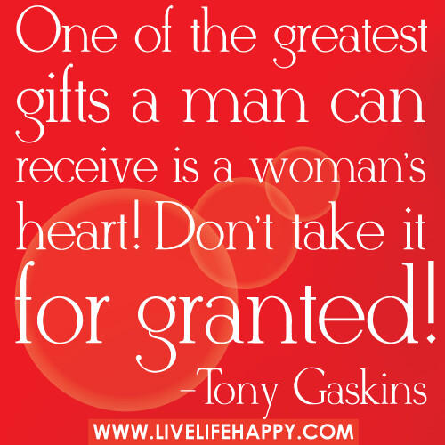 One of the greatest gifts a ma...