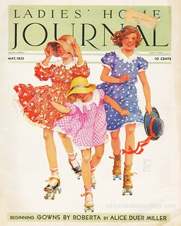 Vintage Ladies Home Journal 1933 | by Retroarama