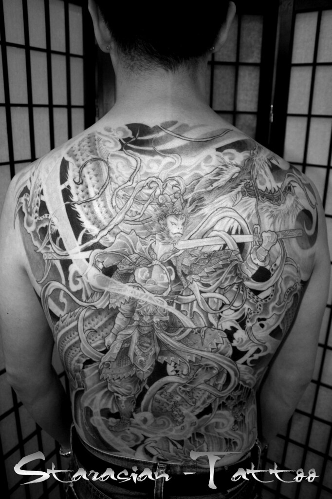 Starasian Tattoo Art Sun Wu Kong July 4 Inked By Starasi Flickr