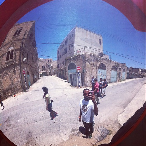 Hebron and my tour group | by fwmj