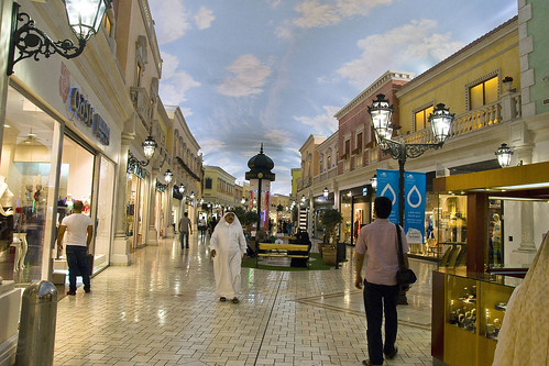 Villaggio Shopping Village with an artificial sky | by Hafiz Issadeen