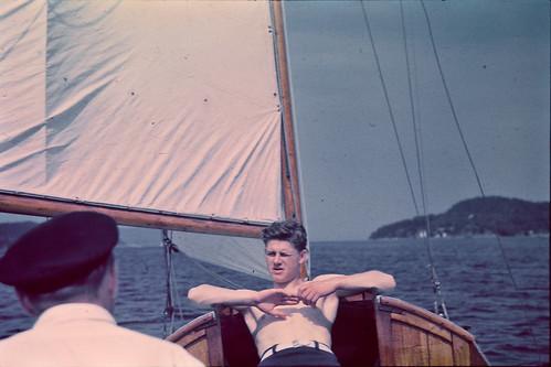 Seilbåt i Oslofjorden