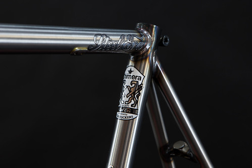 STEEL ERA RAW WITH CLEAR COAT | by starfuckers / Above Bike Store