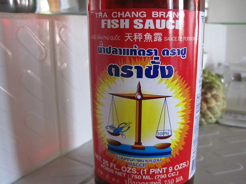 Tra chang fish sauce for gluten free and allergy for Is fish sauce gluten free
